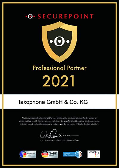 Partnerzertifikat 2021